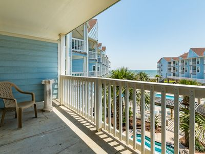 Photo for Oceanfront condo with sea views, shared pool, near beaches and more