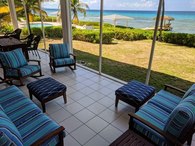Photo for Spacious 3BR SeaScape at Northern Lights: Beachfront-Sweeping Views-Snorkeling!