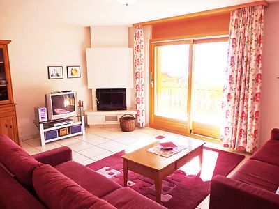 Photo for Apartment La Réze No 5 in Ovronnaz - 4 persons, 1 bedrooms