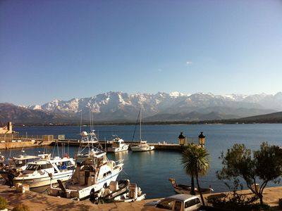 Photo for Beautiful apartment in the port of Calvi