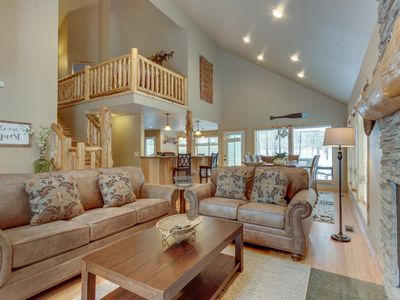 Photo for Family-friendly house w/ private hot tub & entertainment - SHARC passes!