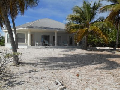 Photo for Beautiful private 2 acre sandy beach on the Caribbean Sea.