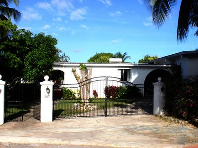 Photo for Villa, New Private Pool / Deck / BBQ. Gardens. Easy Walk to Beaches, Retail.