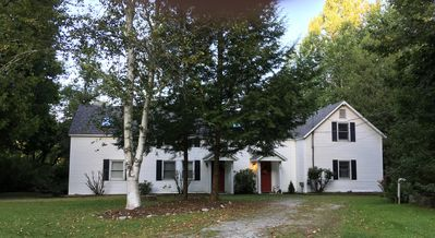 Photo for Newly renovated condo home  on the Battenkill River (North Unit)