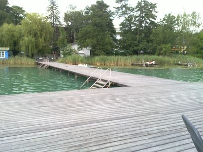 Photo for Vacation apartment, directly located on a lake