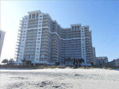 Photo for ~Seawatch Resort Oceanfront 1bdrm Condo Lazy River Pools~ ALL NEW UPGRADES 2018~