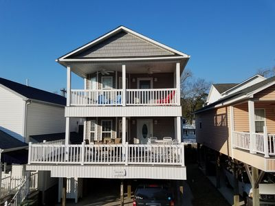 Photo for Two story beach house on stilts