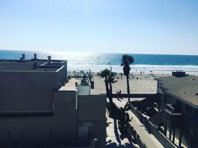 Photo for Chill Beach Condo - Close to Belmont Park, Steps to Beach, Shops & Restaurants!