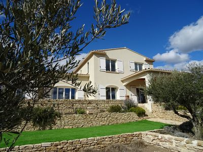 Photo for HOLIDAY HOME SPA at the foot of GORDES