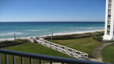Photo for Beachfront 2 Bed, 2 Bath with Free Beach Chairs and Umbrella