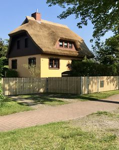 Photo for Baltic Sea, large country house with a thatched roof, 7 pers., Quiet location, family friendly
