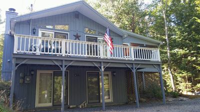 Photo for SPACIOUS & PRIVATE HOME - SUISSEVALE ON LAKE WINNIPESAUKEE
