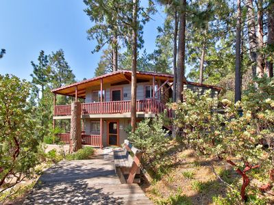 Photo for NEW LISTING! Lower-level mountain view studio with multiple decks