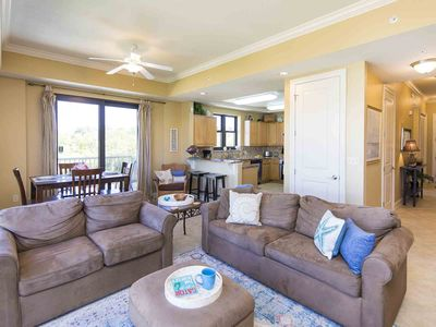 Photo for Beautiful Two Story Condo on 30A. Private Community Pool with Stunning Balcony Views. Just Steps from the Beach!