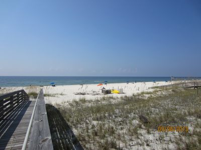 Photo for Beach Front and Ground Floor!! Very Popular Unit!
