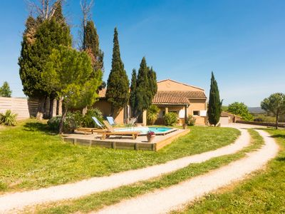 Photo for Very quiet house with private pool near Limoux