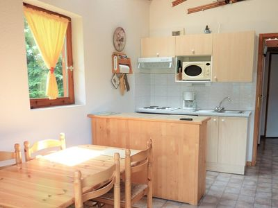 Photo for TER-BOUQ-47 : 2 bedrooms cabin with a garage, near the slopes