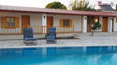 Photo for Modernised Traditional Cottage with Private Pool Set in Beautiful Countryside