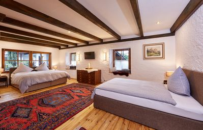 Photo for THE LANDHAUSVILLA for up to 12 people, with 480sqm living space and 2000sqm garden