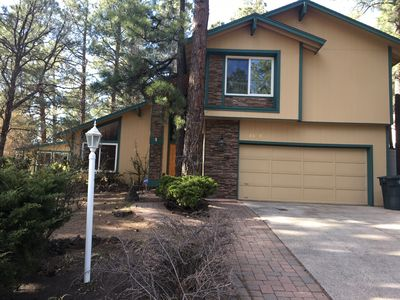Photo for Harris Home, A newly remodeled mountain home with an indoor spa in the pines.