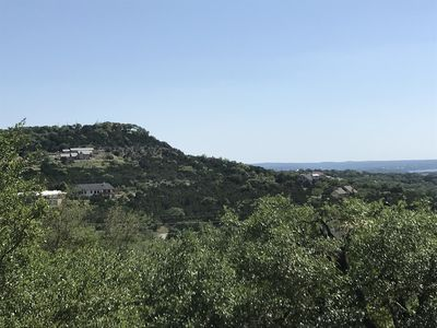 Hill Country quietness, amazing views