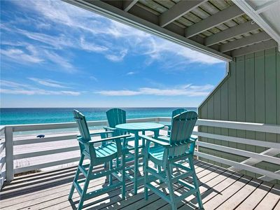Free Beach Service! Private Balconies looking at the Gulf! Free DVD Rentals!