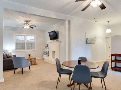 Photo for Midtown Guest House - Walk to everything, fiber wifi, private free parking