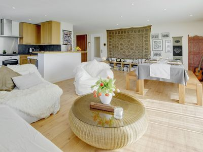 Photo for Rooftop apartment with terrace & Jacuzzi / Short stroll to Antibes center