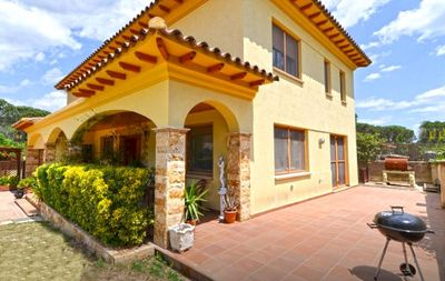 Photo for Catalunya Casas: Sunny Villa Vidreres for 8 with private pool
