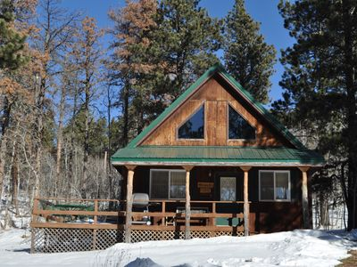 Photo for Family cabin close to the ski slopes!