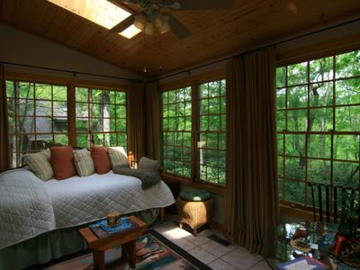 Photo for Heavenly Tree House - Hot Tub - 5 minutes to S. Asheville!