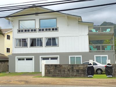 Photo for Relax and Enjoy a Beautiful Oceanfront Home with Kayaks and Beach Gear Included