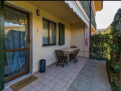 Photo for COMFORTABLE APARTMENT IN SUPER QUIET AREA, VERY CLOSE TO GARDALAND.