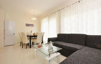 Photo for Two bedroom apartment with terrace Zadar (A-12203-a)