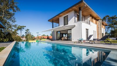 Photo for KEYWEEK Design Villa with Pool and Golf view in Anglet