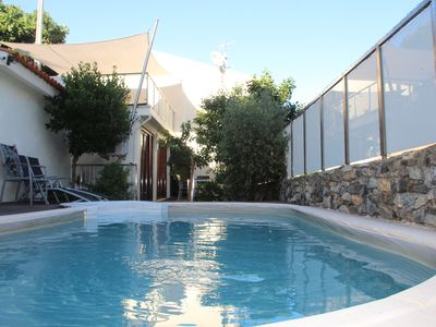 Photo for Villa with pool, 3 bedrooms, 2 bathrooms, kitchen, terrace and garden