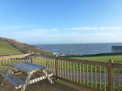 Photo for Sealark Chalet - 2 Bedrooms, Large Decking, Fantastic Sea And Countryside Views
