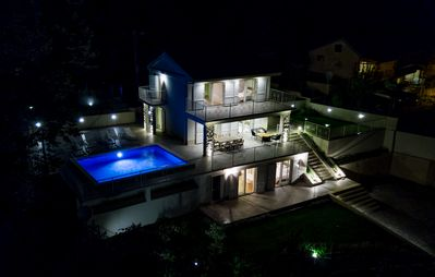 Photo for Amazing Villa Carmen with outdoor pool and breathtaking sea view