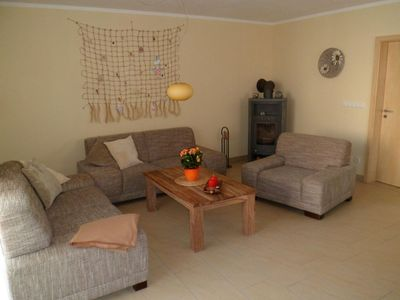 Photo for 300 m to the white sandy beach, 150 m² living space, 3 bedrooms, 1 living room