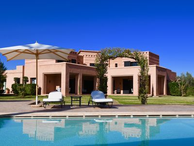 Photo for LUXURY SERVICES IN THIS BEAUTIFUL VILLA IN MARRAKECH