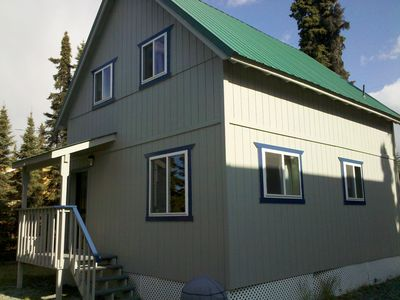 Photo for 4 bedroom cabin on the Kenai River