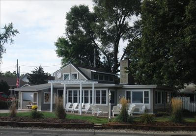 A lakeside home with lots of charm & character. The perfect lakeshore cabin...