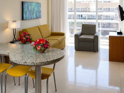 Photo for SUITE - 2 Bedrooms, 2 Bathrooms   - Full Kitchen and bath. Low level. -UNIT 8
