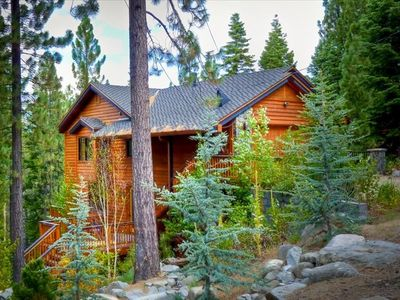 Photo for Luxurious custom Mountain home w/ outdoor waterfalls, Roman Shower and much more
