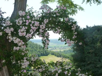 Photo for An enchanting farmhouse overlooking the Tiber Valley just 45 minutes from Rome