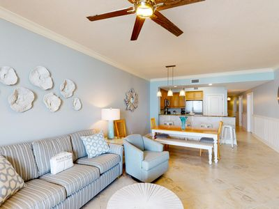 Photo for Gulf Front Condo! Pools Onsite, Nearby Activities, Shops, Restaurants!