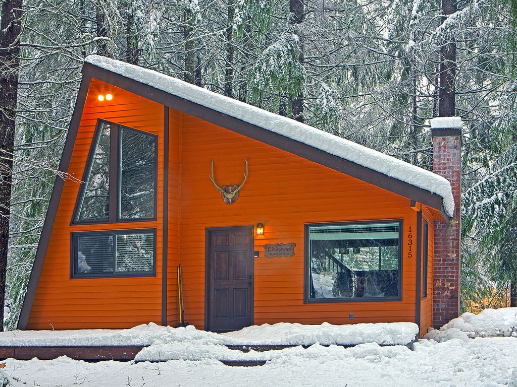 Cozy mountain retreat em mt rainier e cr homeaway for Cabine vicino a mt ranier