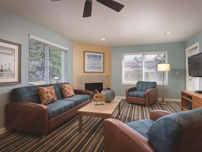 Photo for Blaine, WA: 2 Bedroom Condo w/Fireplace, Private Balcony, Resort Pools & More