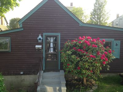 Photo for Quaint cottage on Millpond  walking distance to everything  Lobsterman's Landing