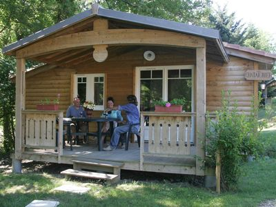 Photo for Comfortable chalet in a quiet beautiful park with many facilities